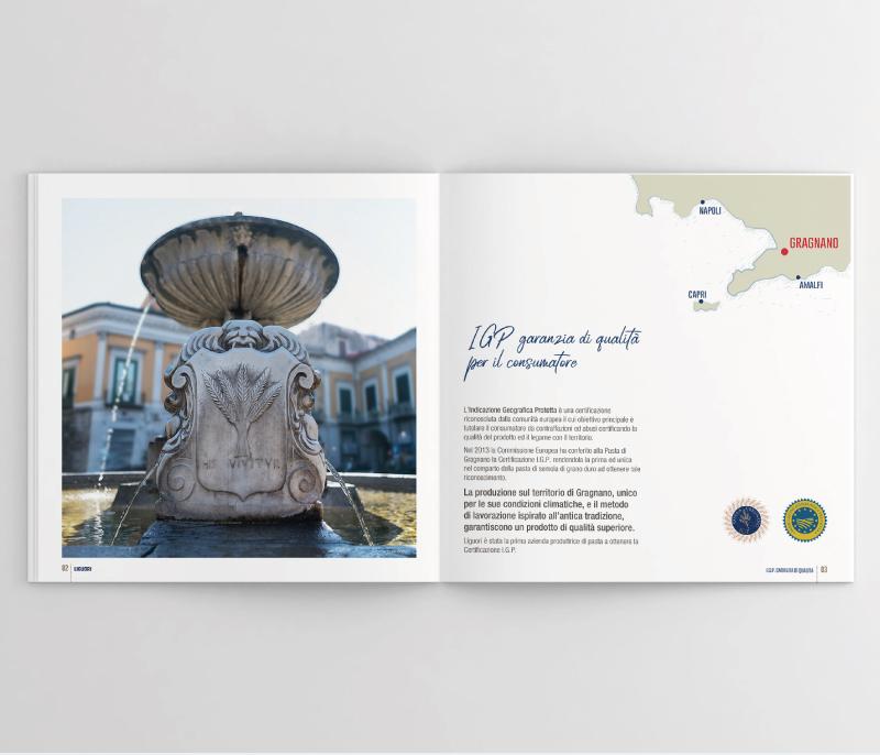 Pastificio Liguori - Realizzazione cataloghi - Web Agency Napoli - Libellula Grafica Lab