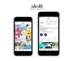 Gestione social media Idrofil - Agenzia di comunicazione Napoli - Libellula Grafica Lab