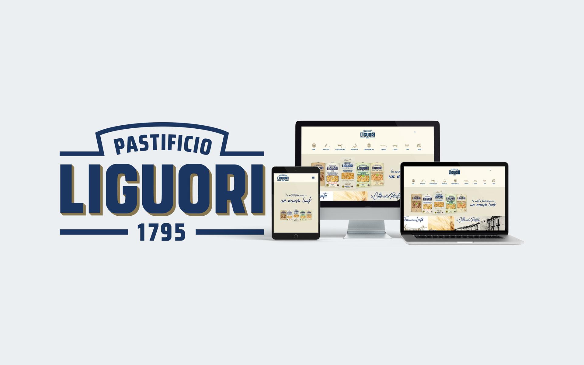 Pastificio Liguori - Immagine coordinata - Web Agency Napoli - Libellula Grafica Lab