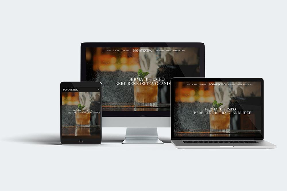 Immagine coordinata Dopoteatro - Agenzia pubblicitaria - Libellula Grafica Lab