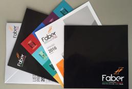 Realizzazione cataloghi Faber - Agenzia pubblicitaria Napoli - Libellula Grafica Lab