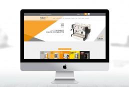 Realizzazione sito web Faber - Agenzia pubblicitaria Napoli - Libellula Grafica Lab