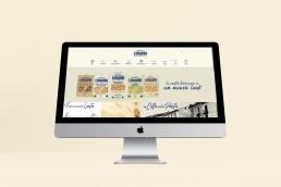 home page pastificio Liguori - Agenzia di Comunicazione Libellula Grafica Lab