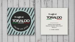Biglietti da visita personalizzati Il Caffè di Toraldo Italian Life Style - Agenzia pubblicitaria Napoli - Libellula Grafica Lab