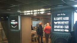 Comunicazione punto vendita Il Caffè di Toraldo Italian Life Style - Agenzia pubblicitaria Napoli - Libellula Grafica Lab