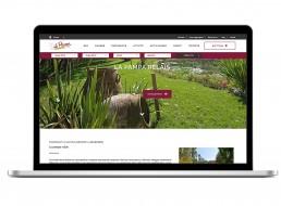 Realizzazione sito web La Pampa - Agenzia di comunicazione - Libellula Grafica Lab