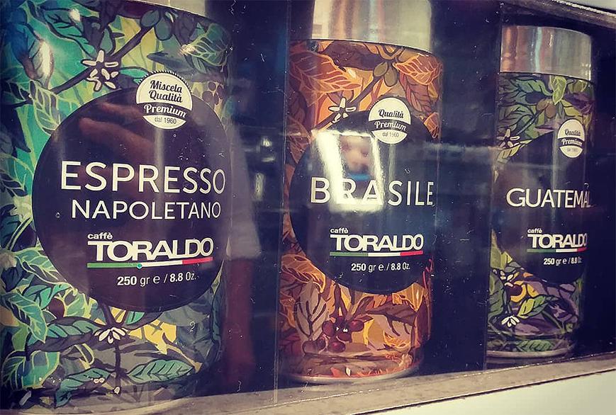 Packaging personalizzato Caffè Toraldo - Agenzia pubblicitaria Napoli - Libellula Grafica Lab