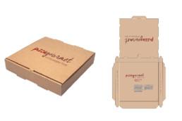 Packaging personalizzato Pizza Gourmet - Agenzia di comunicazione Napoli - Libellula Grafica Lab