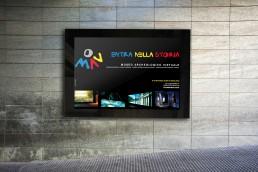 Banner pubblicitario Museo Archeologico Virtuale - Agenzia di comunicazione Napoli - Libellula Grafica Lab