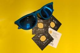 Giri di pasta - Biglietti da visita personalizzati - Agenzia di comunicazione Napoli - Libellula Grafica Lab
