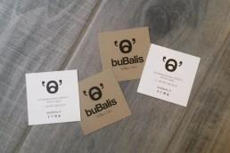 Bubalis Biglietti da visita personalizzati - Agenzia pubblicitaria Napoli - Libellula Grafica Lab