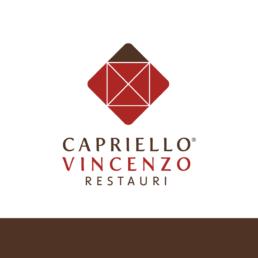 Logo Capriello Vincenzo Restauri - Agenzia di comunicazione - Libellula Grafica Lab