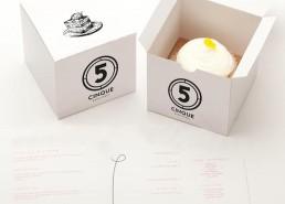Packaging Food dolci CINQUE Baretteria Napoli
