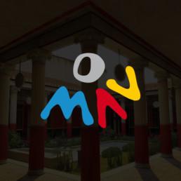 Logo Museo Archeologico Virtuale - Agenzia di comunicazione Napoli - Libellula Grafica Lab