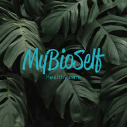 Mybioself - Logo - Agenzia pubblicitaria Napoli - Libellula Grafica Lab