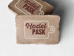 Hadel Pask - Biglietti da visita personalizzati - Web agency Napoli - Libellula Grafica Lab