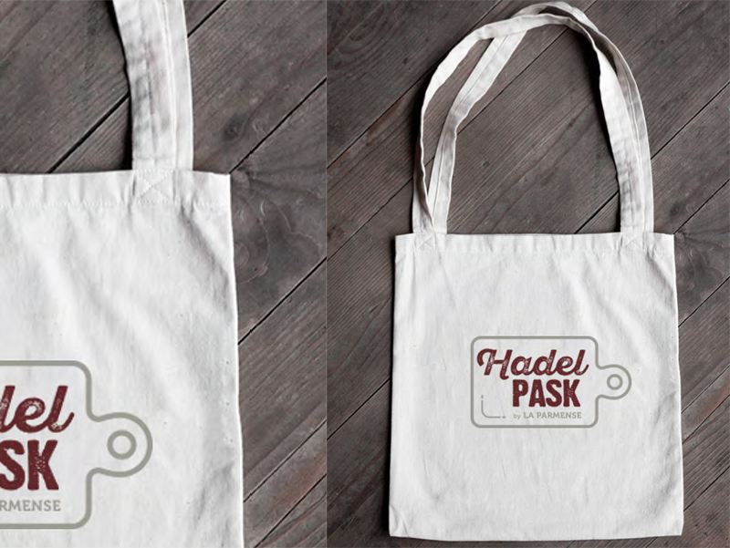 Hadel Pask - Shopper bag - Web agency Napoli - Libellula Grafica Lab
