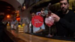 Bucopertuso Napoli: public house e drink bar logo - Agenzia di Comunicazione Libellula Grafica Lab