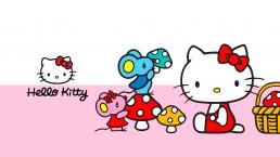 Banner pubblicitario Hello Kitty - Web agency Napoli - Libellula Grafica Lab