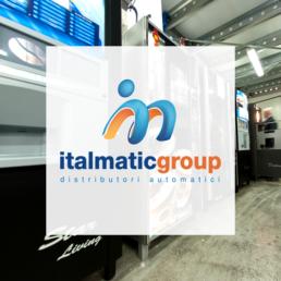 Logo Italmatic - Web agency Napoli - Libellula Grafica Lab