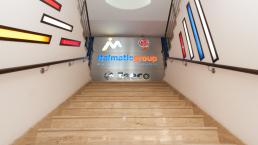 Comunicazione punto vendita Italmatic - Web agency Napoli - Libellula Grafica Lab