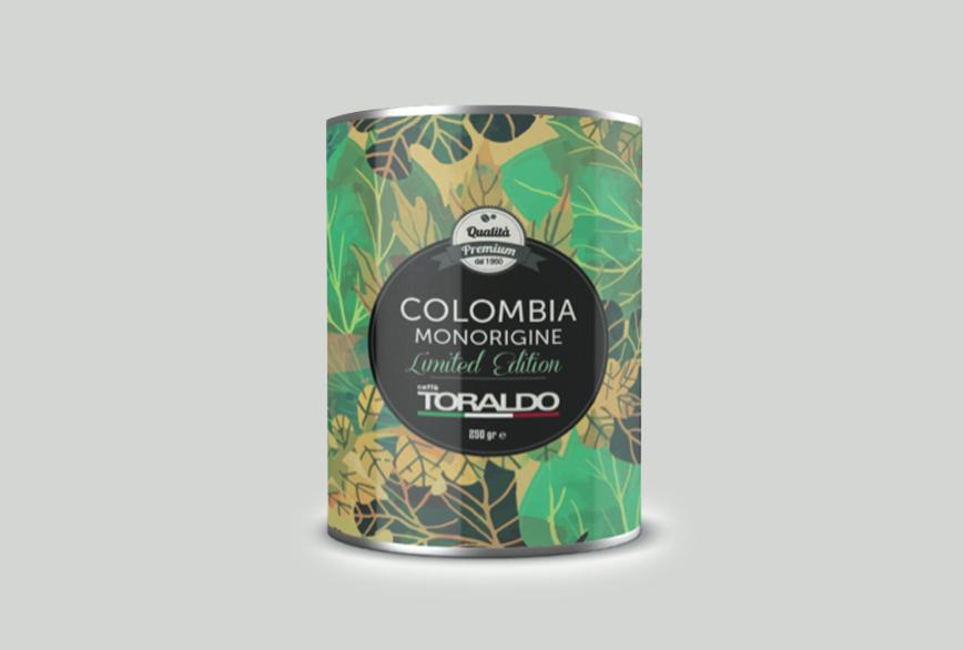 Packaging personalizzato Caffè Toraldo - Agenzia di comunicazione Napoli - Libellula Grafica Lab