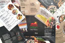 Immagine coordinata food pizzeria PIZZAIOLI VERACI NAPOLI