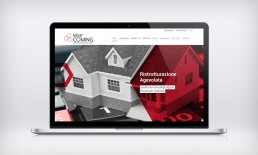 Anteprima home page sito web New Coming