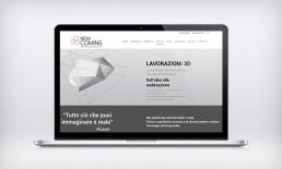 Sito web new coming pagina lavorazioni 3d
