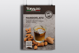 Comunicazione punto vendita Caffè Toraldo - Agenzia pubblicitaria Napoli - Libellula Grafica Lab