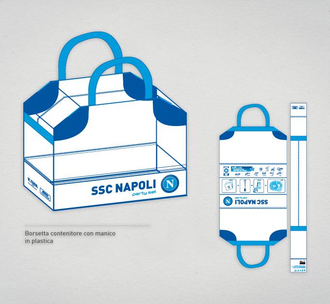 SSC Calcio Napoli - Comunicazione Libellula Grafica Lab