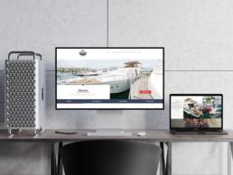 Realizzazione sito web Vita Nauta - Agenzia di comunicazione Napoli - Libellula Grafica Lab