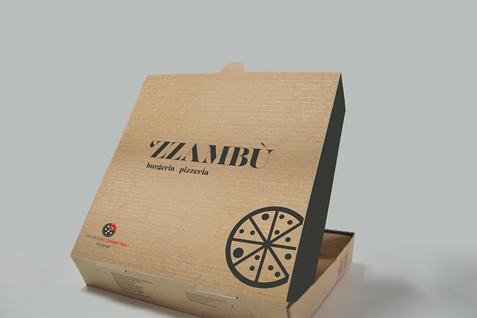 Porta pizza grafica e realizzazione prodotti food