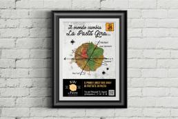 Giri di pasta - Affissione - Agenzia di comunicazione Napoli - Libellula Grafica Lab