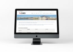 Realizzazione sito web CMO - Agenzia pubblicitaria Napoli - Libellula Grafica Lab