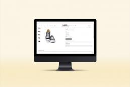 Realizzazione sito web LUBA Store - Agenzia di comunicazione Napoli - Libellula Grafica Lab