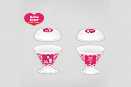Packaging personalizzato Hello Kitty