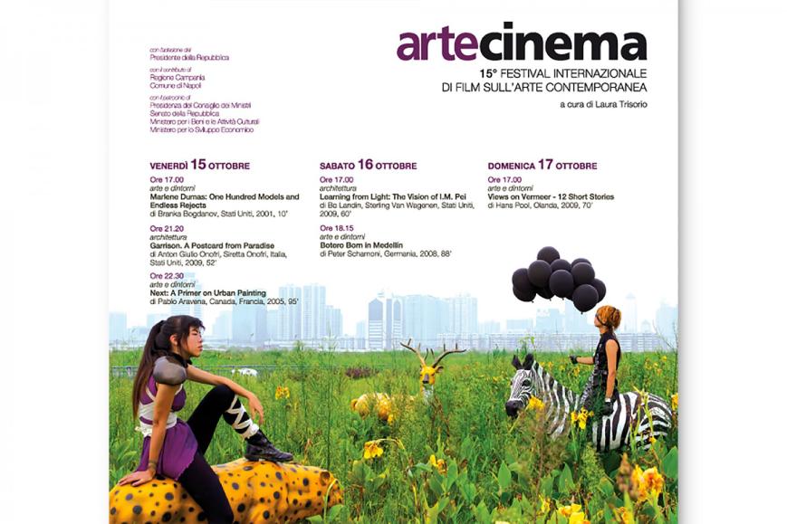 Brochure Artecinema - Agenzia pubblicitaria Napoli - Libellula Grafica Lab