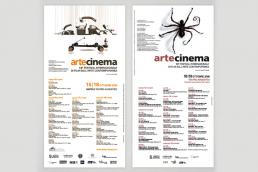 Calendario eventi Artecinema - Agenzia pubblicitaria Napoli - Libellula Grafica Lab