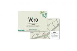 Biglietti da visita personalizzati Vero Ristorante - Agenzia di comunicazione Napoli - Libellula Grafica Lab