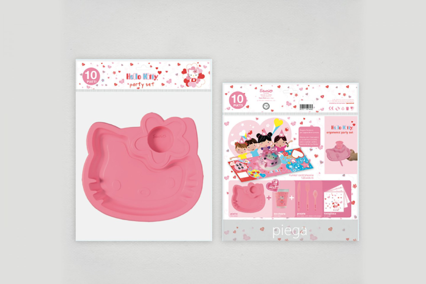 Packaging personalizzato Hello Kitty - Web agency Napoli - Libellula Grafica Lab
