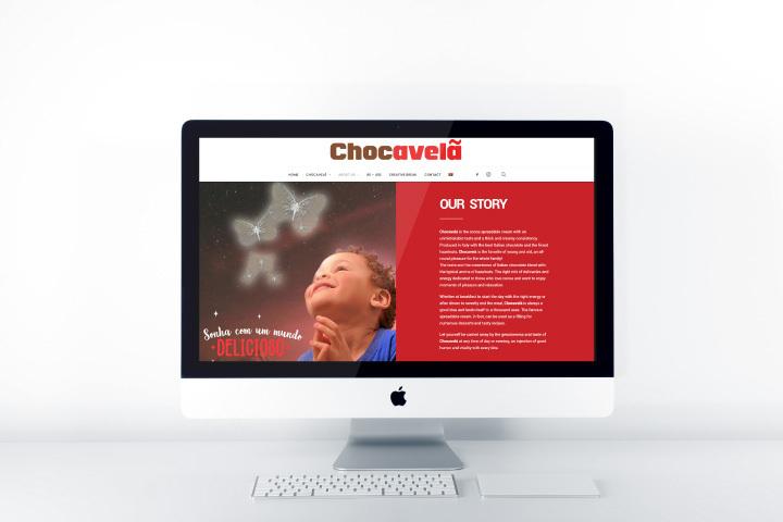Chocavela Ideazione web agenzia di comunicazione Libellula Grafica lab Napoli