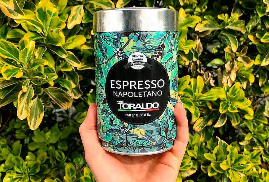 caffe toraldo packaging e grafica libellula lab napoli