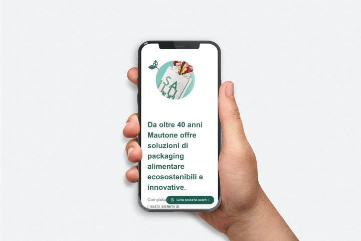 Sito web versione Responsive Mautone Packaging