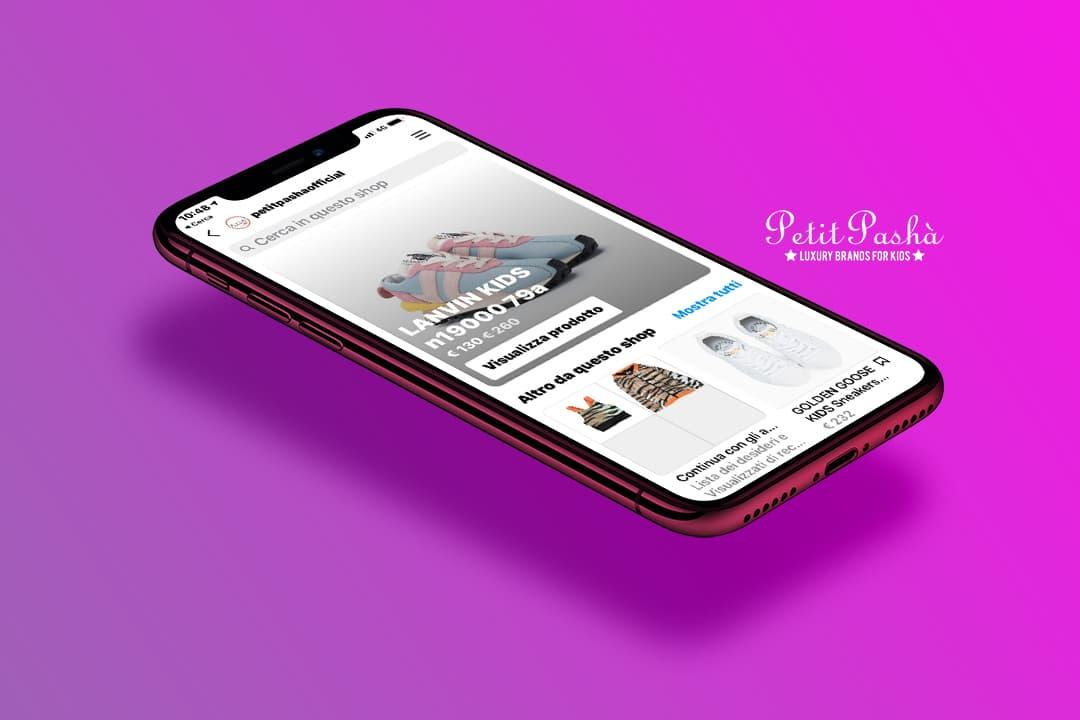 lgl-petit-pasha-social-shop-instagram-libellula-lab-web-agency napoli